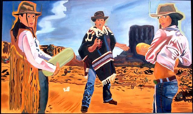 fantasy cowgirl art