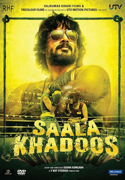 Poster Of Saala Khadoos 2016 720p Hindi BRRip Full Movie Download