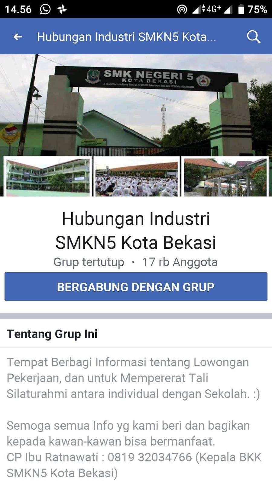10 Bursa Kerja Khusus atau BKK Terpercaya dan Terjamin di Daerah Bekasi dan Karawang