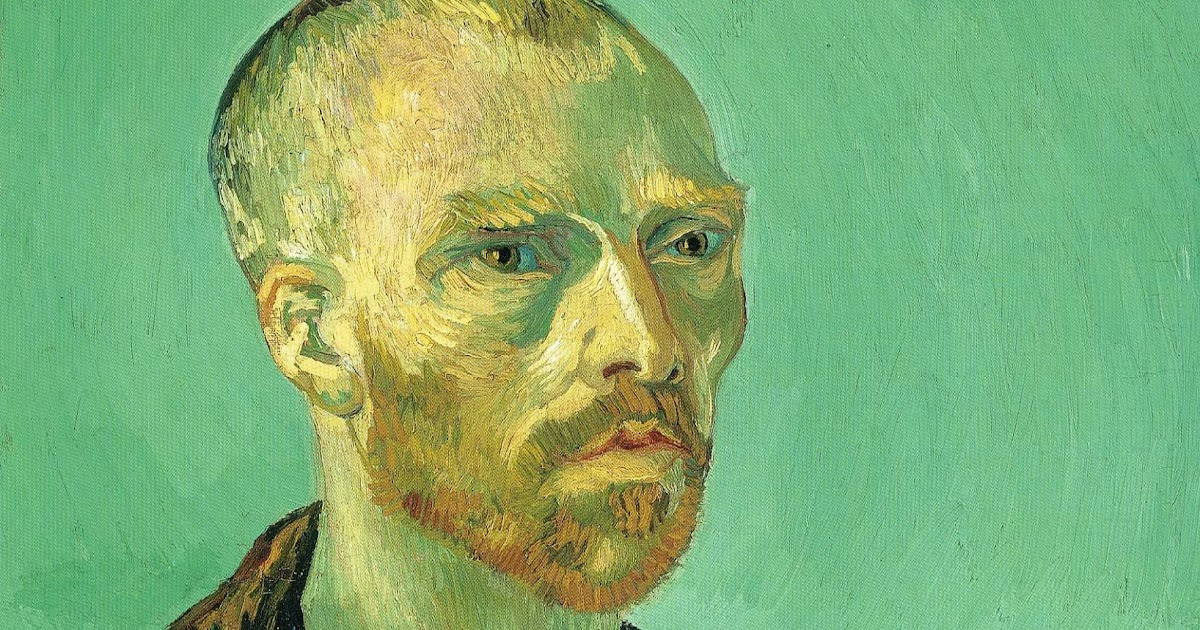 self portraits van gogh and rembrandt