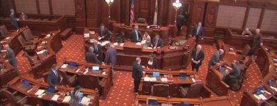 IL Senate Floor