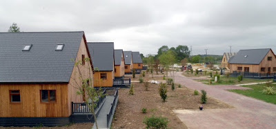 Brigg Marina holiday homes near the River Ancholme - Picture Two on Nigel Fisher's Brigg Blog - July 2018
