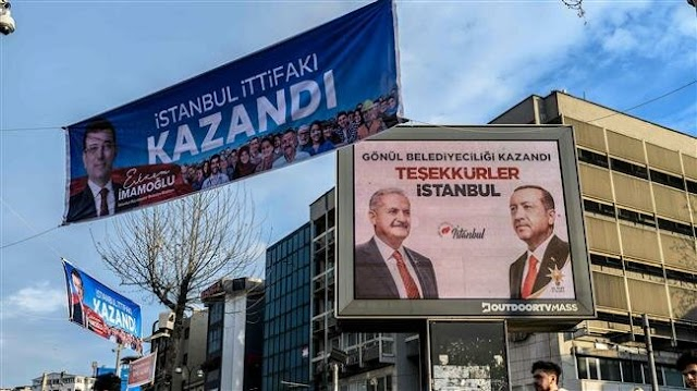 Turkey's president Recep Tayyip Erdogan demands annulment of Istanbul election results due to alleged irregularities