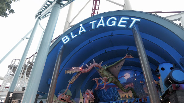 Photo of Bla Taget Ghost Train Entrance at Grona Lund