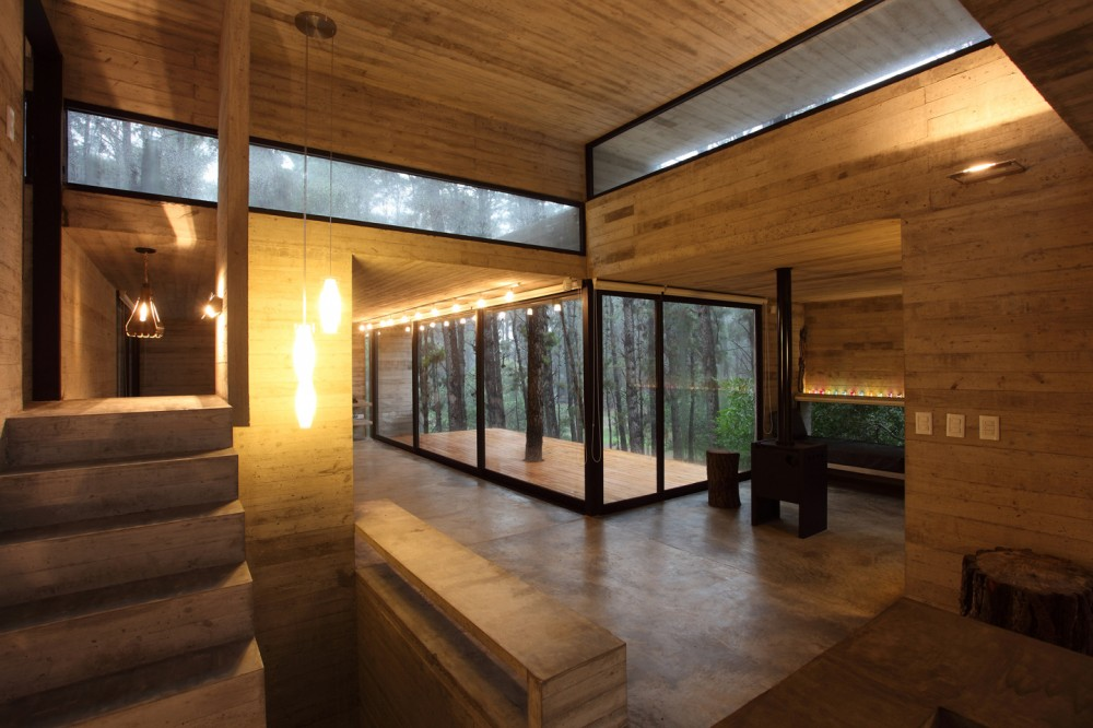 Дома из стекла и дерева фото дерево