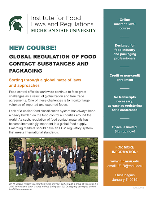 Institute for Food Laws and Regulation (www iflr msu edu)