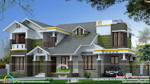 Modern House Sloping Roof