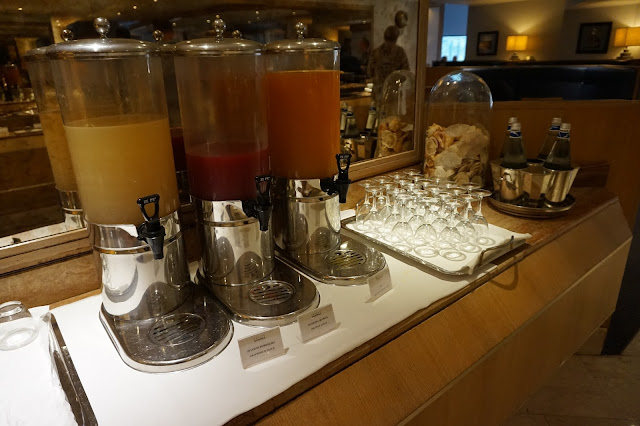 Starthotels President - le buffet du petit-déjeuner