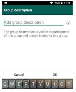 Cara Menambahkan Deskripsi Grup di Ponsel Android WhatsApp dan Cara membuat panggilan video grup di WhatsApp di android, Begini caranya