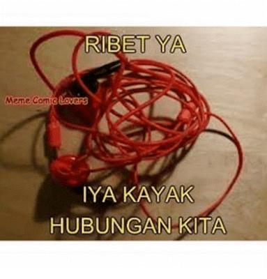 10 Meme 'Hubungan Kita' Ini Sebenarnya Kocak, Tapi Kok Bikin Nyesek Ya?