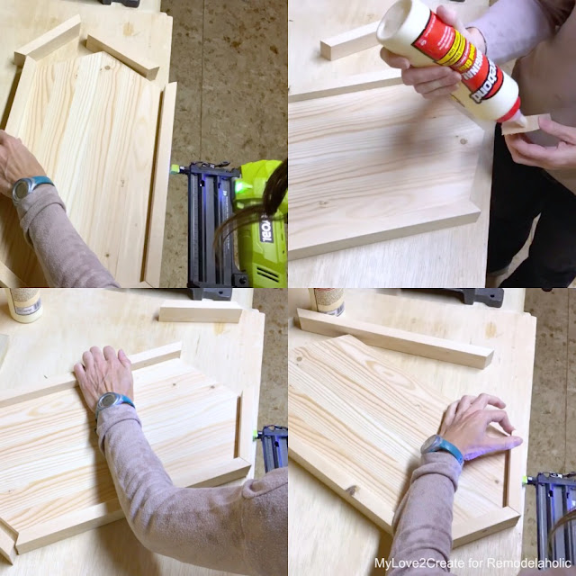 Attaching tray edges