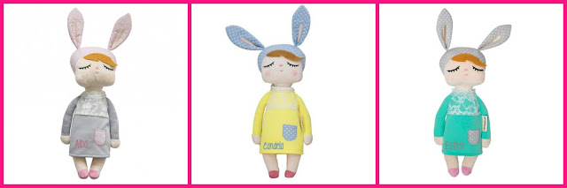 sorteo, little bunny, tutete, muñecas, juguetes, peluches, muñeca de tela, tutete.com