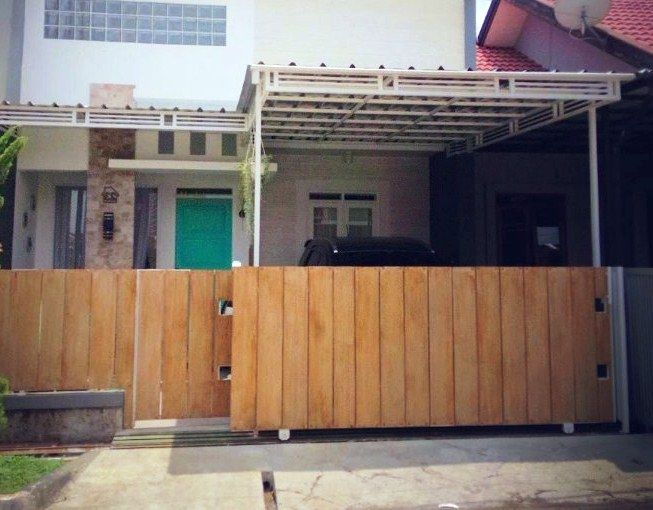 25 model desain pagar minimalis untuk rumah kecil mungil