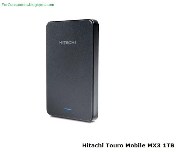 Hitachi Touro Mobile MX3 1TB portable hard drive