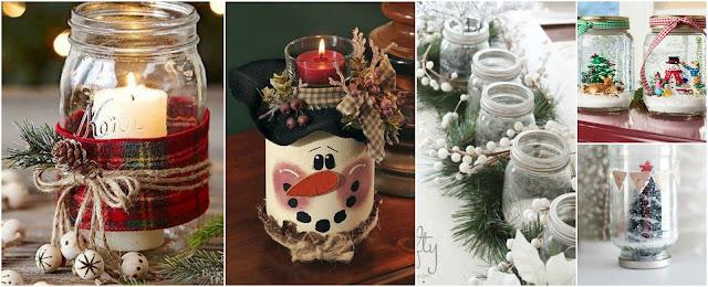 12 bonitos adornos navide os que puedes hacer reciclando - Decoracion de navidad casera ...