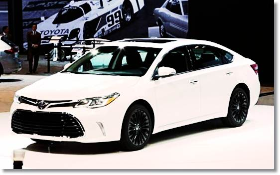 2017 Toyota Avalon Changes, Release Date, Engine