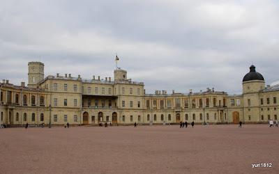 Южный фасад дворца