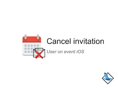 Cancel invitation on event
