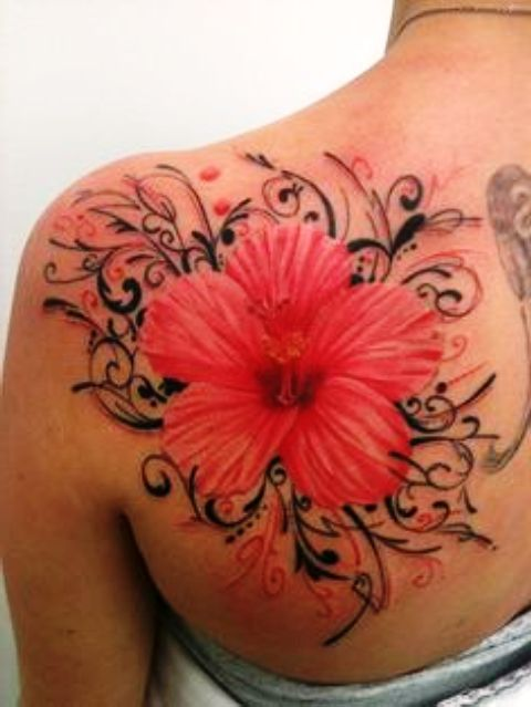 Pic Of Flowers Tattoos