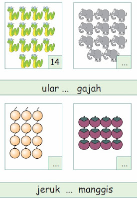 Contoh Soal Bilangan Matematika Kelas 1 SD