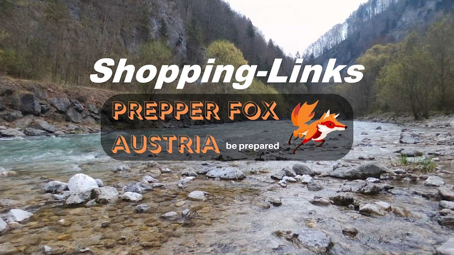 Prepper Fox Shopping-Links