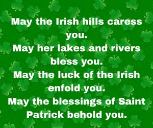St Patty's day 2018 sayings