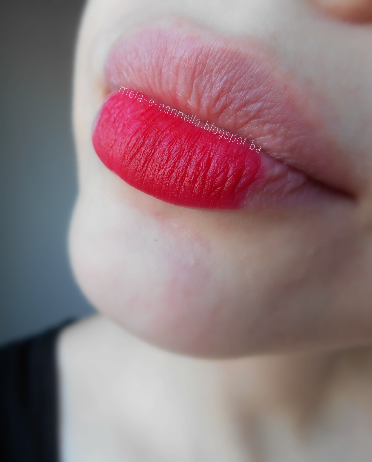 Mela E Cannella Avon True Color Matte Lipstick Ruby Kiss