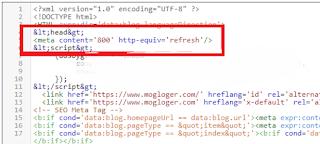 cara pasang reload otomatis blog
