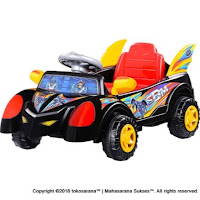 SHP SBM627 Super Hero Mobile Ride-On Car