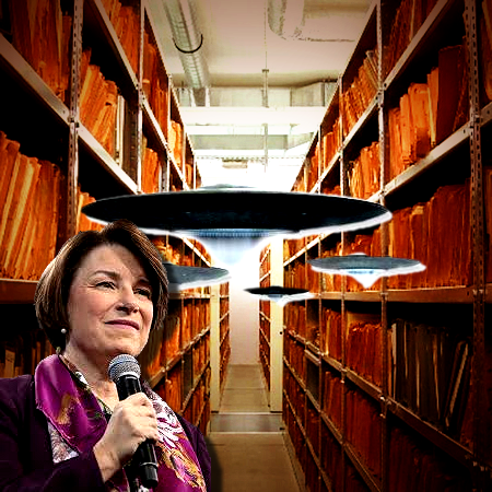 I Will Declassify UFO Documents,' Says, Amy Klobuchar