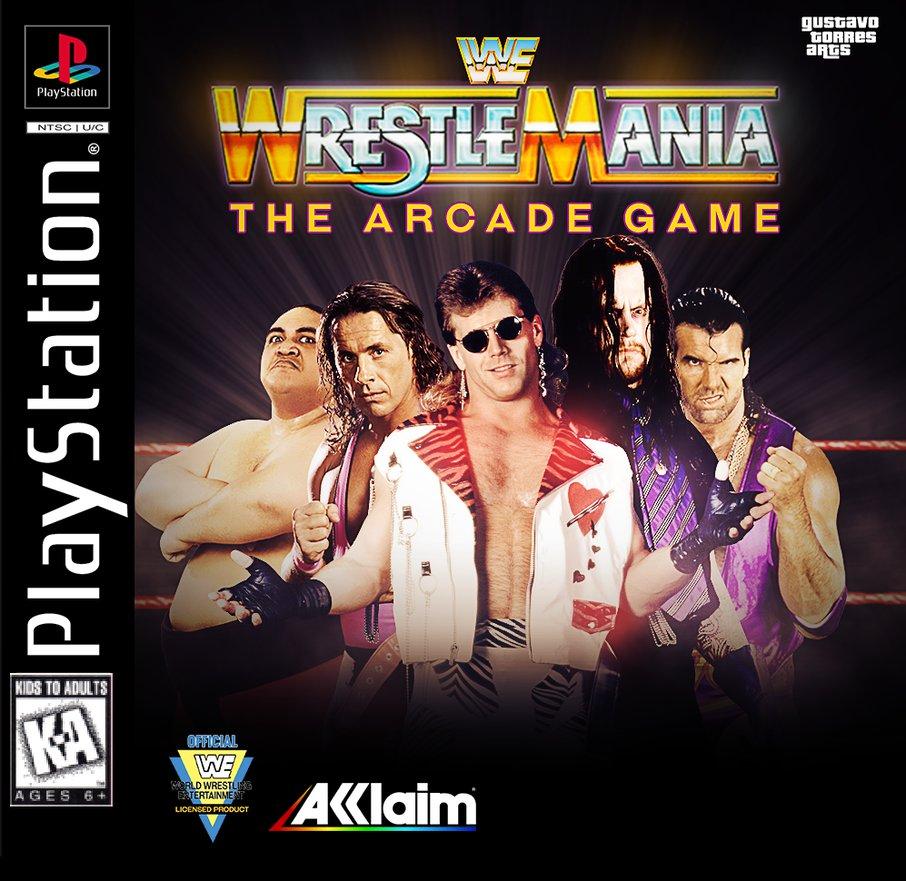 WWF Wrestlemania - The Arcade Game ISO PS1