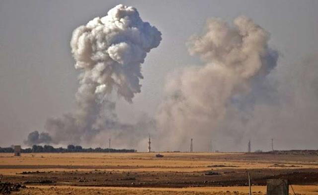 Η Μόσχα κατηγορεί το Μετώπο αλ Νόσρα για τον βομβαρδισμό του Χαλεπίου με βλήματα αέριου χλωρίου