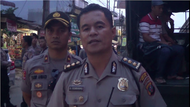 Polda Sumut Dan Polrestabes Medan Sediakan Angkutan Bagi Masyarakat Di Amplas