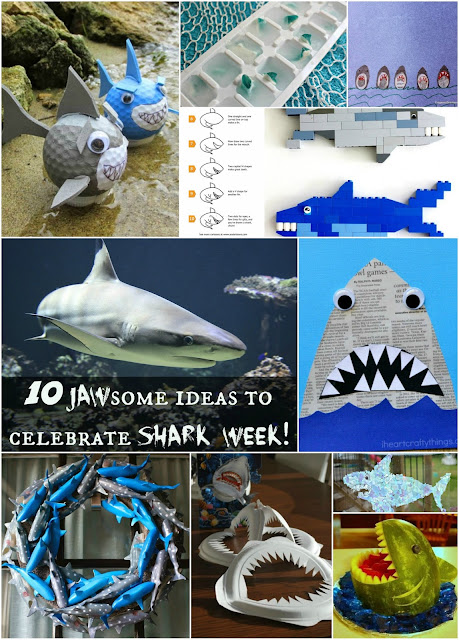 10 JAWSome ideas to celebrate Shark Week!