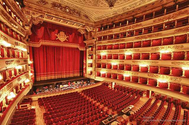 teatro alla scala milan italia opera