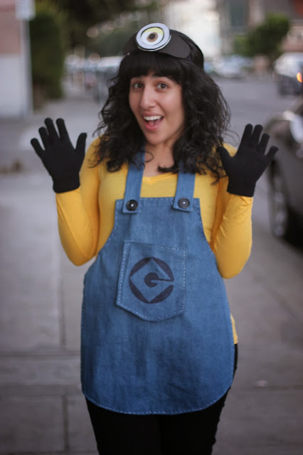 Despicable Me Minion DIY Apron Overalls