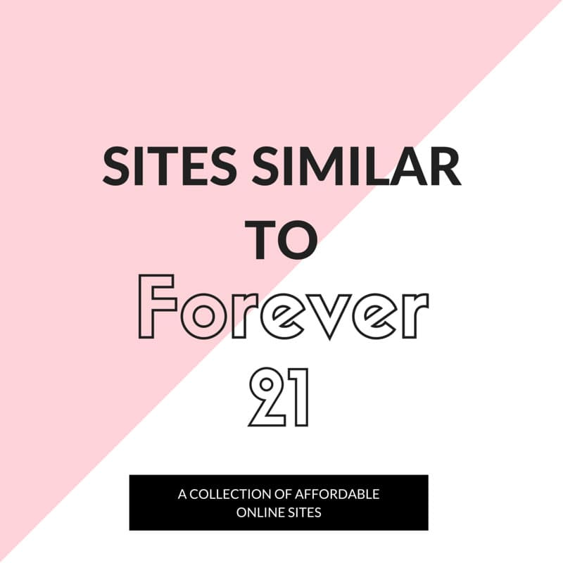 sites similar to forever 21
