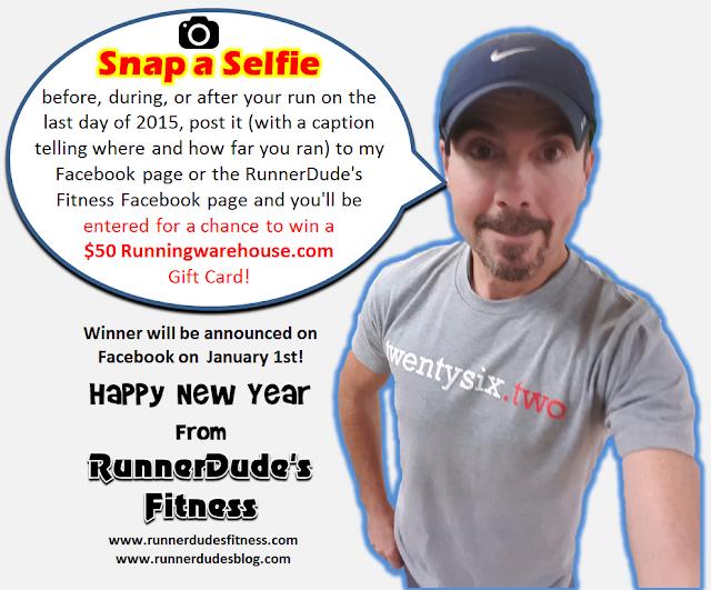 Last Run of 2015 Selfie Contest!