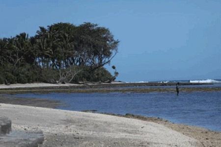 Pesona Indah Pantai Pamayang Sari Tasik Selatan