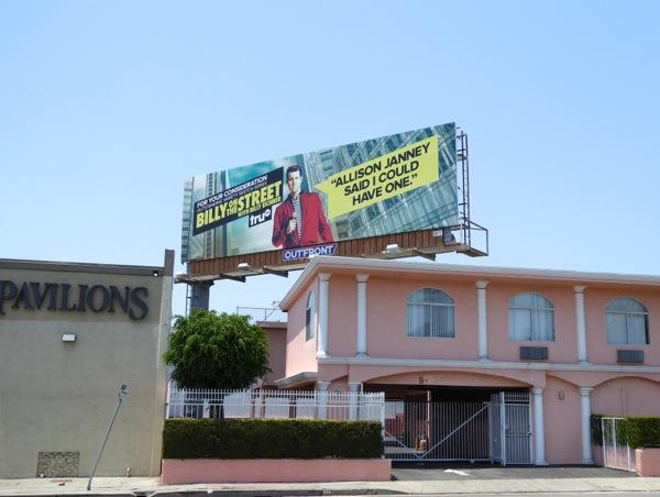 Billy on the Street 2016 Emmy billboard