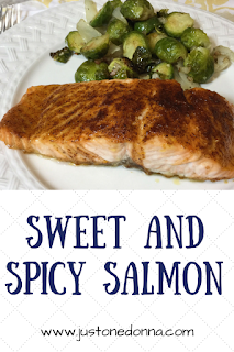 Sweet and Spicy Salmon