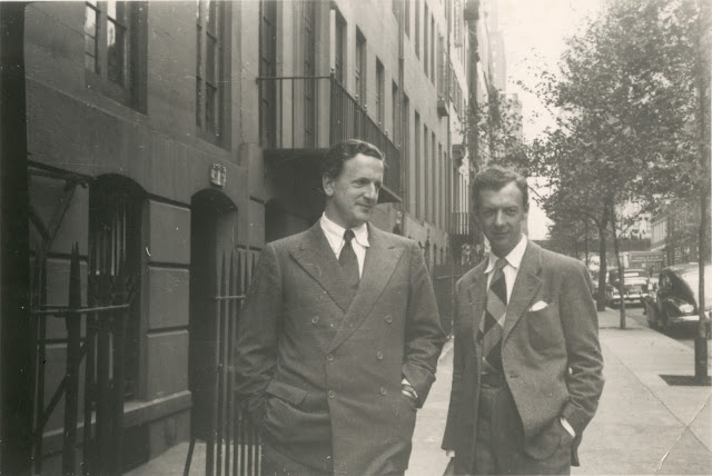 Britten & Pears in NYC (c) Britten-Pears Foundation