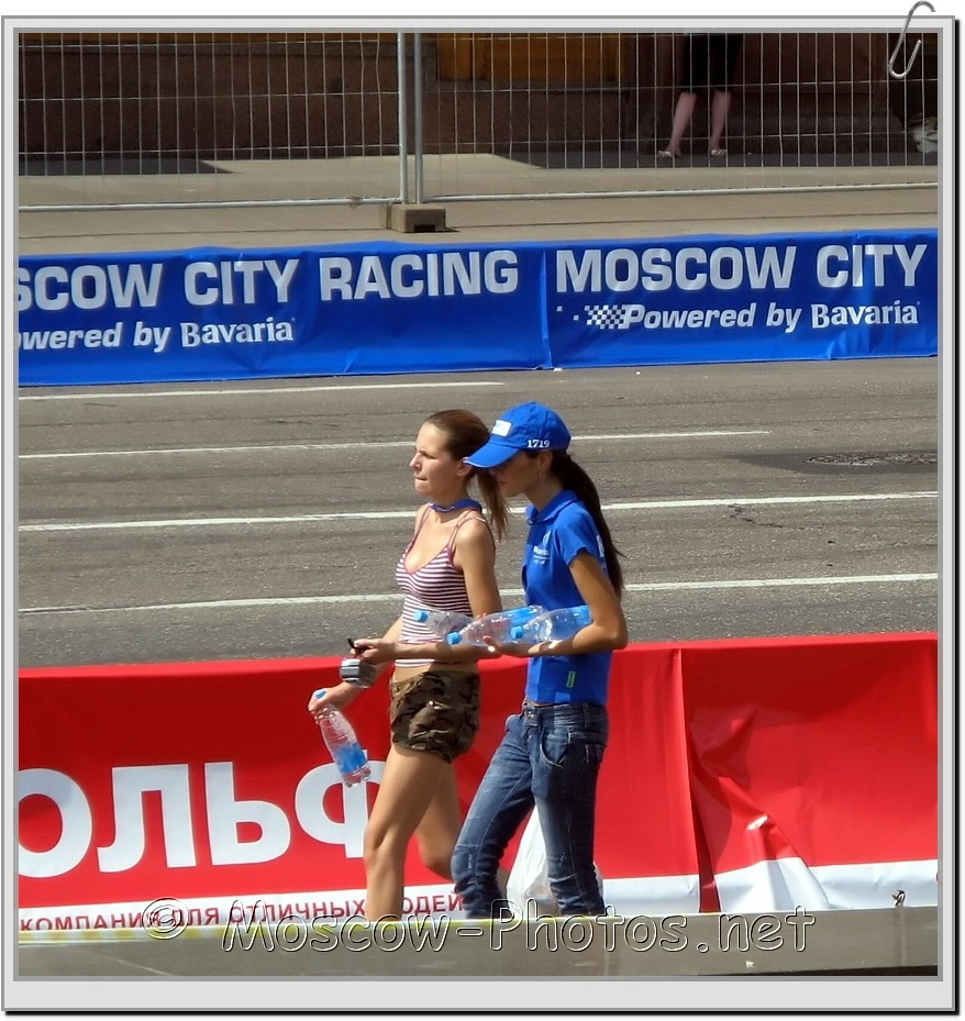 Moscow Girls  at Bavaria Moscow City Racing 2008