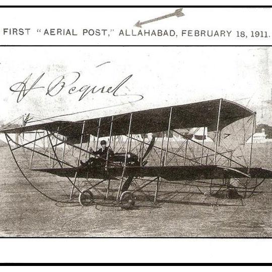 Sejarah Pengiriman Surat Via Udara Pertama Kali Di Dunia