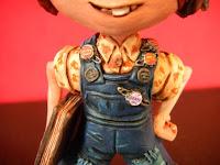 Ellie up orme magiche modellini film animazione cartoni animati statuette statuine personaggi fantasia action figure personalizzate fatta a mano