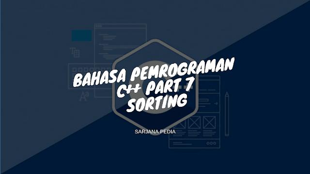 Metode Sorting Pada C++