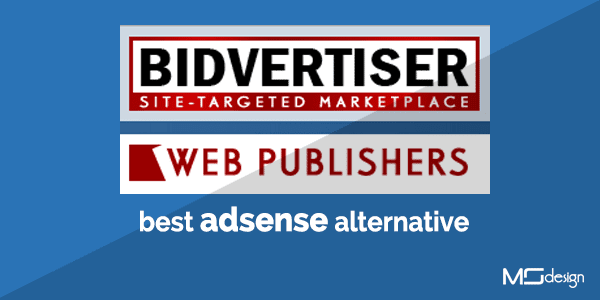 a positive review about BidVertiser Best Adsense Alternative