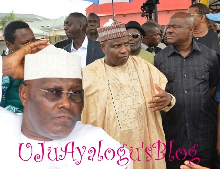 2019: Atiku In Tight Corner As Gov. Wike's PDP Convention Secret Deal With APC's Gov. Tambuwal, Makarfi, Others LEAKED