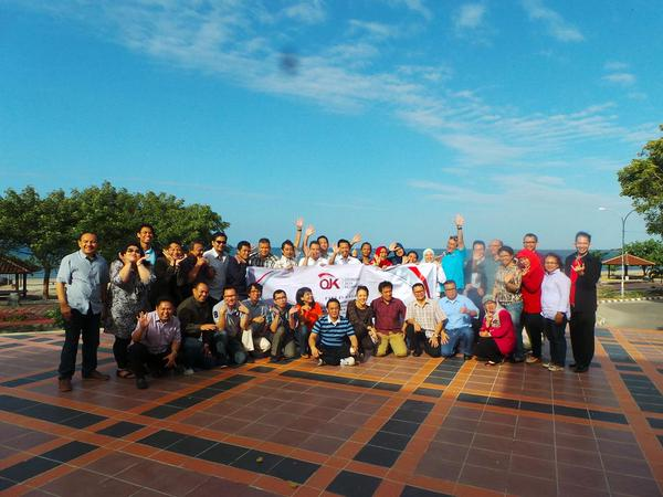 OJK Leadership School in Marina Beach Bantaeng South Sulawesi