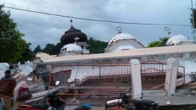 Musibah Kembali terjadi di Naggroe aceh serambi Mekkah
